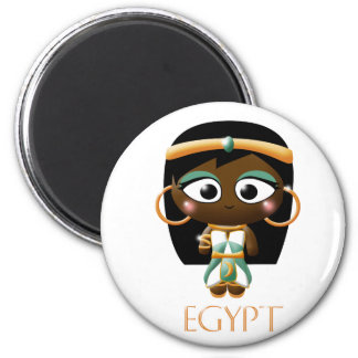 Ancient Egyptian Girl Magnet