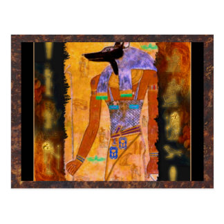Ancient Egyptian God Anubis Gift Range Postcard