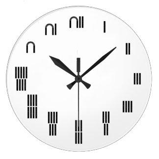Ancient Egyptian Hieroglyph Wall Clock