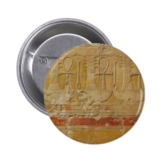 Ancient Egyptian Key Of Life Ankh 6 Cm Round Badge