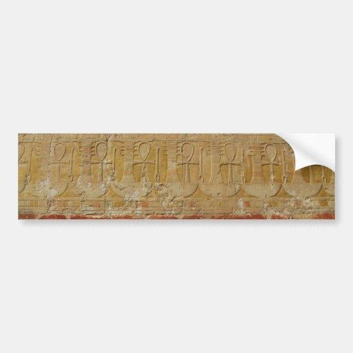 Ancient Egyptian Key Of Life Ankh Bumper Sticker