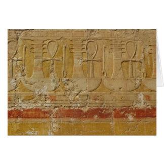 Ancient Egyptian Key Of Life Ankh Card