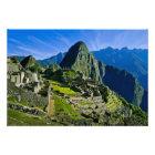 Ancient Machu Picchu, last refuge of the Photo Print