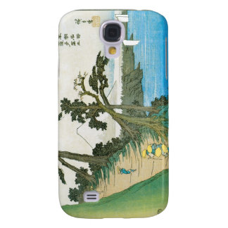 Ancient Painting of Mt. Fuji c. 1837 Japan Galaxy S4 Covers