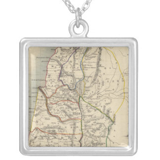 Ancient Palestine Silver Plated Necklace