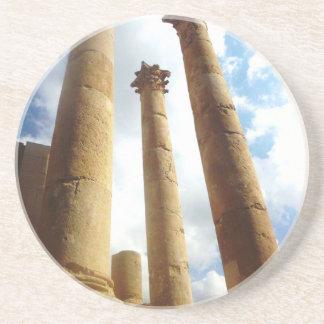 Ancient Roman Columns Coaster
