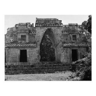 Ancient Ruins: Gateway to Labna, Yucatan, Mexico Postcard