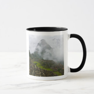 Ancient ruins of Machu Picchu with Andes Mug