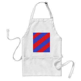 and Blue Stripes Standard Apron