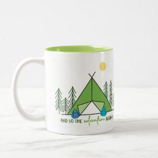 And so the Adventure Begins  - Mug