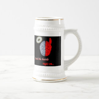 And the Battle Rages On (Good vs Evil) Coffee Mug