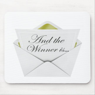 And the winner is envelope mouse pad