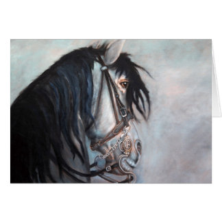 Andalusian Beauty Greeting Card
