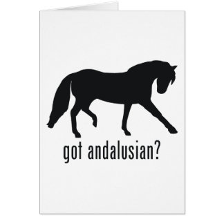 Andalusian Card