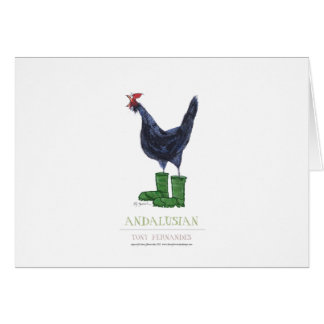 Andalusian Hen, tony fernandes Card