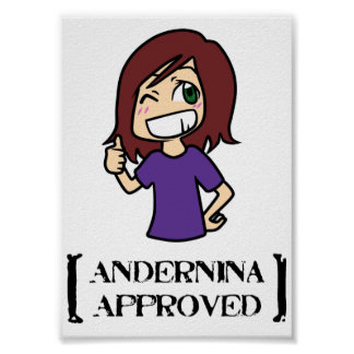 Andernina Approved Poster