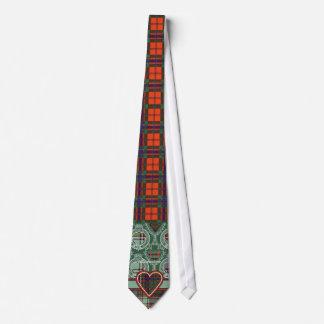 Anderson clan Plaid Scottish tartan Tie