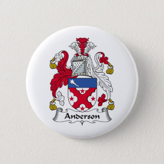 Anderson Family Crest 6 Cm Round Badge