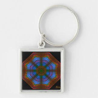 Anderson Tartan Octagon (signed) Key Ring