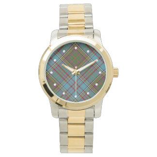 Anderson Tartan Two-tone Watch