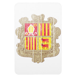 Andorra Coat Of Arms Magnet