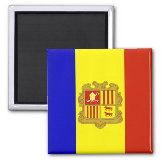 Andorra High quality Flag Magnet
