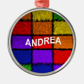 ANDREA ( female names ) Christmas Ornament