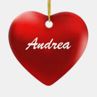 Andrea Ornament Heart
