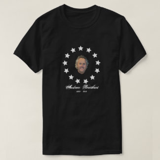 Andrew Breitbart Tribute - Colonial Flag Style T-Shirt