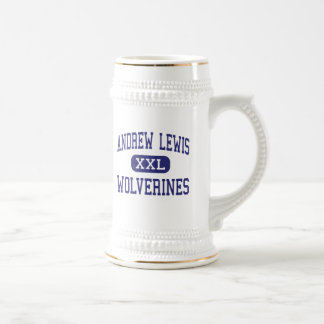 Andrew Lewis Wolverines Middle Salem Beer Stein