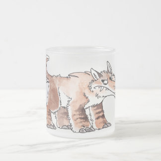 Andrewsarchus Frosted Glass Mug