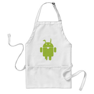 Android Easter bunny Standard Apron