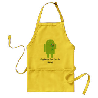 Android in Love Standard Apron