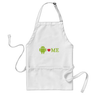 Android Loves Me Standard Apron