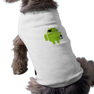 Android Robot Icon as a Pirate Shirt