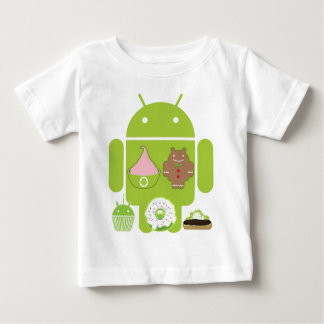 Android Versions Baby T-Shirt