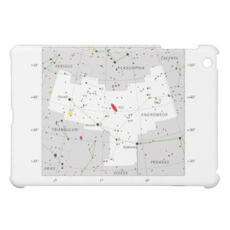 Andromeda Star System Constellation Chart Case For The iPad Mini