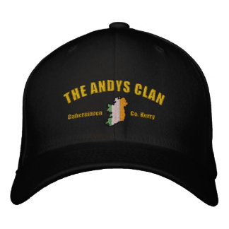 ANDYS Clan Embroidered Hat - No Background
