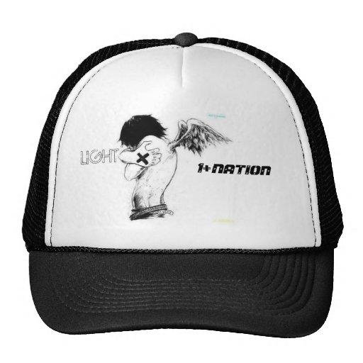 ang, 1+NATION, LIGHT Mesh Hats
