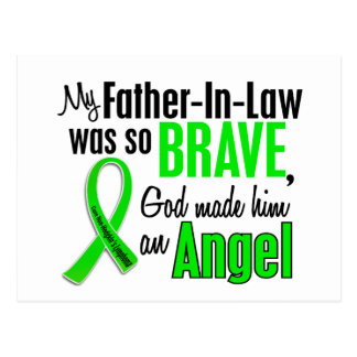Angel 1 Non-Hodgkins Lymphoma Father-In-Law Postcard