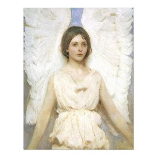 Angel by Abbott Thayer Vintage Victorian Fine Art Custom Announcement