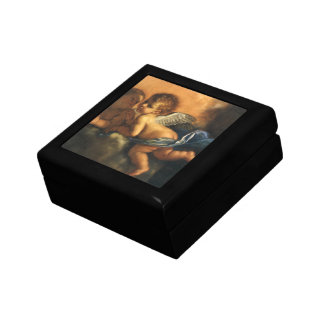 Angel detail, Patron Saints of Modena by Guercino Gift Box
