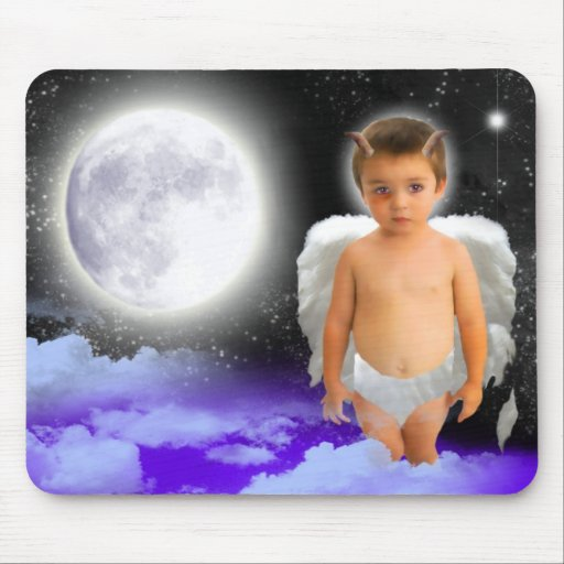 ANGEL DREAMS NAUGHTY BUT NICE MOUSE PAD
