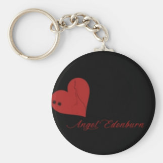 Angel Edenburn logo keychain