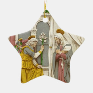 Angel Gabriel The Annunciation To Mary Christmas Ornament
