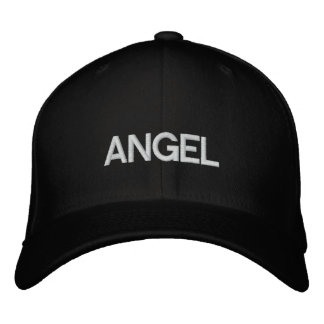 ANGEL HAT DRCHOS.COM CUSTOMIZABLE PRODUCTS EMBROIDERED HAT