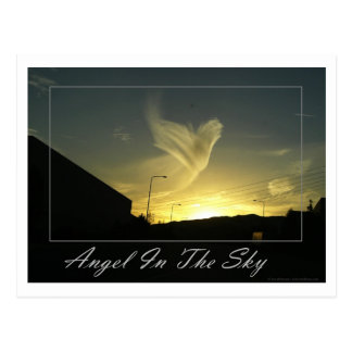 Angel In The Sky (Los Angeles) Postcard