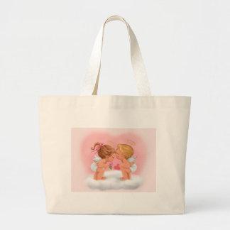 Angel Kiss Large Tote Bag