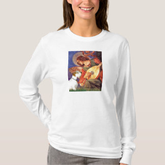 Angel & Mandolin - Sealyham Terrier T-Shirt