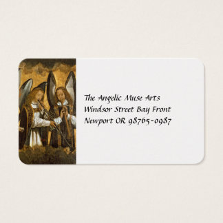 Angel Musicians c1480 Business Card